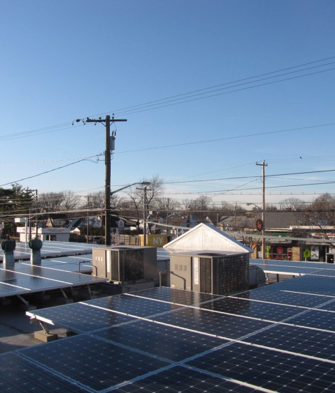 Commercial Solar Panels New Hyde Park NY