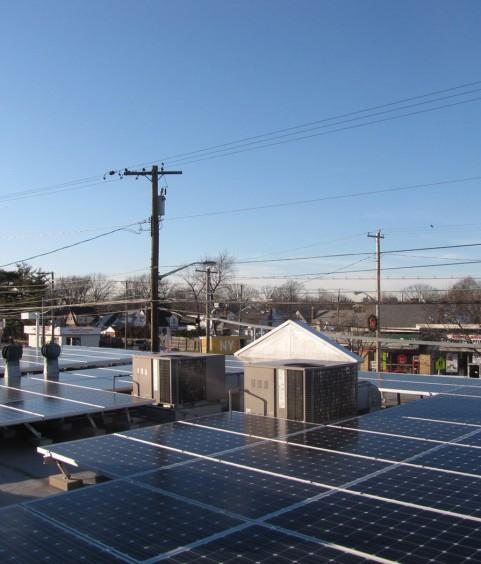 Commercial Solar Panels New Hyde Park NY