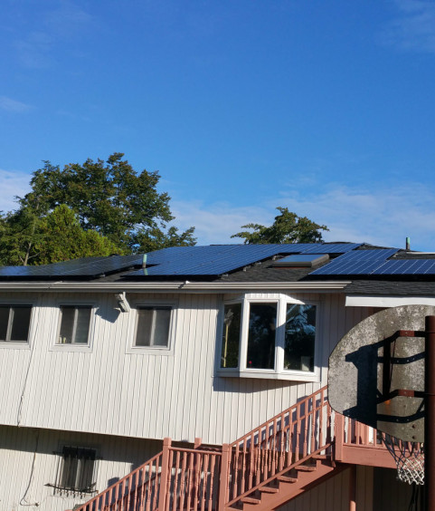Long Island Solar Energy - Woodmere NY Home Installation